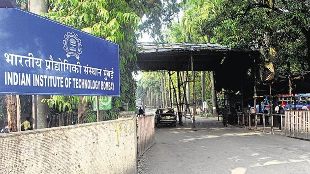 IIT-Bombay boasts of a massive campus with 16 hostel buildings while another two buildings are on the anvil.(HT FILE)