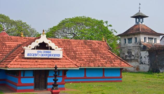Paradesi Synagogue in Kochi. It was constructed in 1567.(Shutterstock)