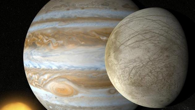 Although the temperature in Europa's surface is next to absolute zero, there is an enormous amount of thermal energy in its core.(Photo: Nasa)