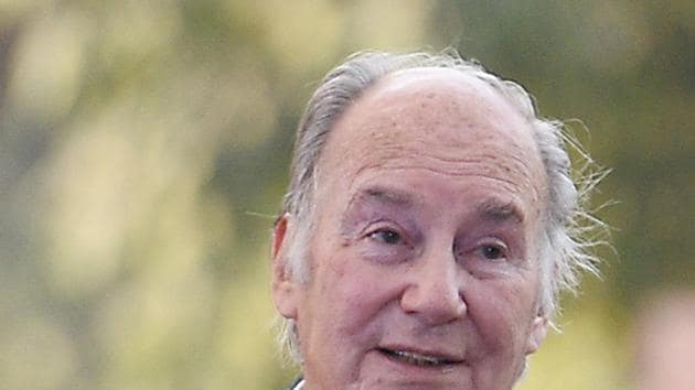 The Aga Khan is on a 10-day visit to India.(HT File)
