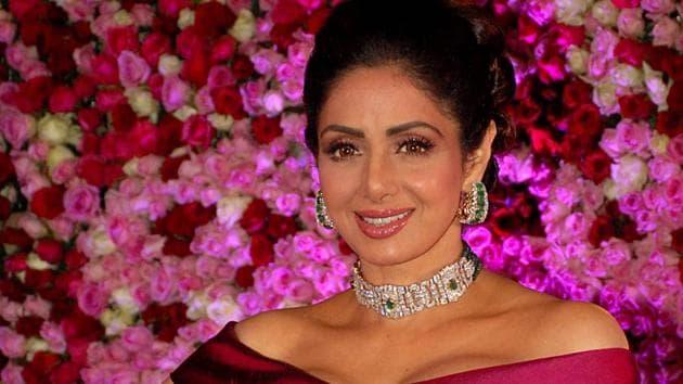 Sridevi was born as Shree Amma Yangar Ayyapan.(AFP)