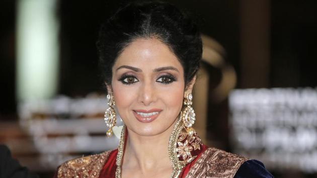 Sridevi, Bollywood's leading lady of the 1980s and '90s who redefined stardom for actresses in India, has died at age 54.(AP)