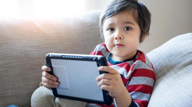 Limit your child's screen time.(Shutterstock)