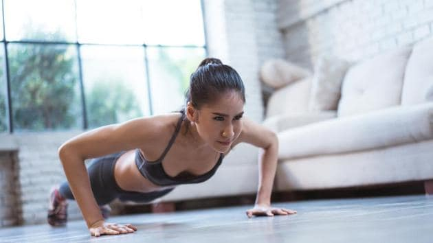 The more exercise-related posts a person sees on social media, the more concerned they feel about their own weight.(Shutterstock)