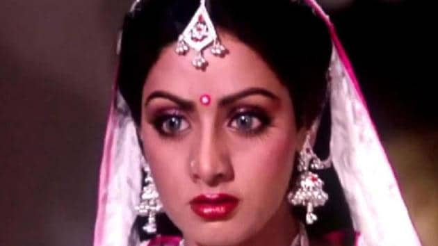 Sridevi in a still from Nagina. The actor passed away after suffering a cardiac arrest in Dubai on Saturday.