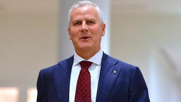 Michael McCormack was chosen in a party-room ballot to replace Barnaby Joyce as the leader of the rural-based National Party.(Reuters File Photo)