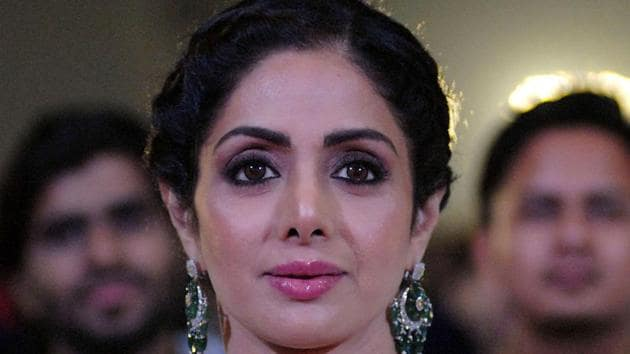 Sridevi died after suffering a heart attack in Dubai on Saturday night. Her body will be brought back to Mumbai on a chartered plane later today.(AFP)