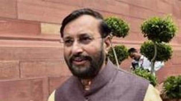 The government is going to reduce the syllabus of NCERT textbooks in the coming two to three years, Human Resource Development Minister Prakash Javadekar announced on Monday.(PTI file)