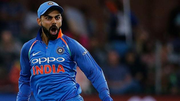 Indian cricket team captain Virat Kohli's aggression was a little over the top, according to former Australia captain Steve Waugh.(AFP)