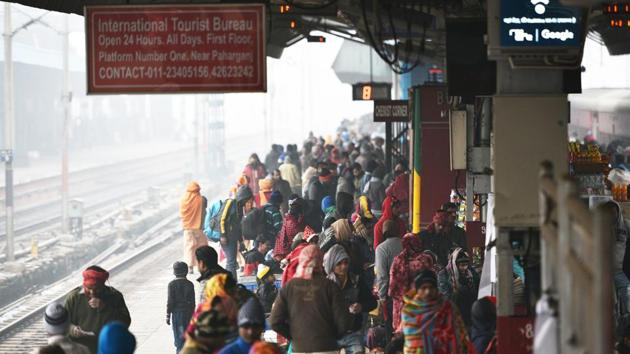 Sanitary pad dispensers and incinerators have already been installed in New Delhi and Bhopal Railway stations and Railway Offices across the country.(HT FIle Photo)