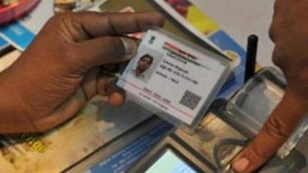 Using Aadhaar as the base for paperless authentication, IndiaStack combines with spreading access to the Internet on mobile systems to enable rapidly expanding digital transactions(AFP)