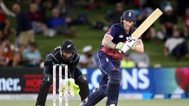 England's star all-rounder Ben Stokes put on a masterclass as the tourists levelled the ODI series against New Zealand with a dominant six-wicket victory at Mount Maunganui on Wednesday.(AFP)