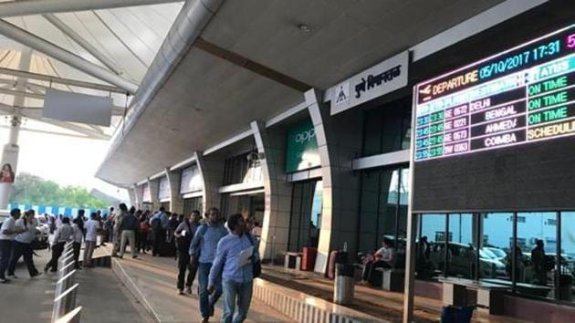 The Airport Authority of India is also planning to increase the number of check-in counters from the existing 32 to 44.(HT FILE PHOTO)