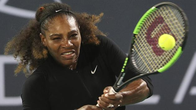 Serena Williams has not played a full WTA tournament since missing most of 2017 due to the birth of her daughter.(AP)
