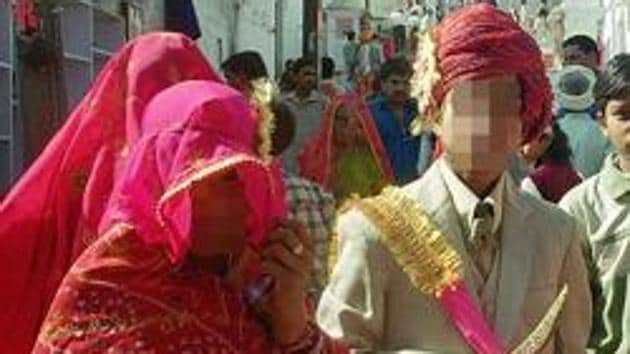 According to the National Crime Records Bureau, 326 incidents of child marriage was reported in India in 2016.(Representational Photo)