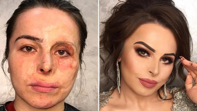 Gohar Avetisyan is using makeup to give stunning makeovers to her clients. (Gohar Avetisyan/Instagram)