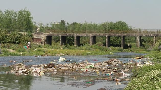 Uttarakhand Human Rights Commission had sent notices to the Dehradun municipal corporation and water supply department asking the government agencies to help in conserving the rivers.(HT PHOTO)