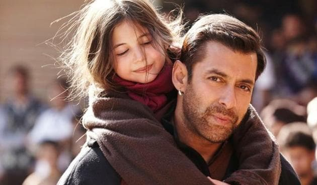 Salman Khan in a still from Bajrangi Bhaijaan. The film that released in China on Friday, has collected Rs 55.2 crore over the first weekend.