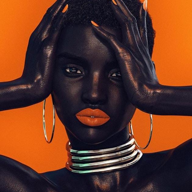 Meet Shudu Gram, the world's first digital supermodel. Shudu Gram (Instagram)