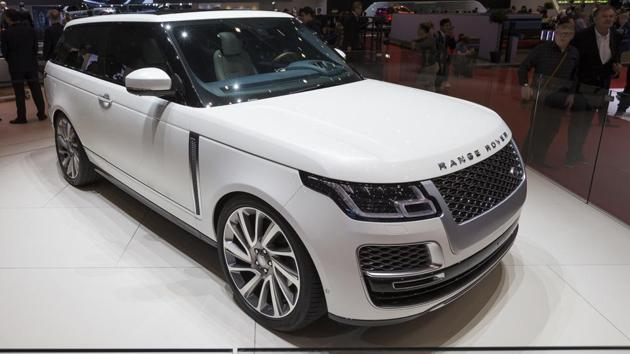 The new Land Rover Range Rover SV Coupe is presented during the press day at the 88th Geneva International Motor Show in Geneva, Switzerland.