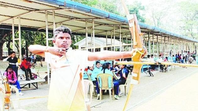 Prodigiously talented, Gora Ho's ability with the bow and arrow was discovered by coaches at the Dugni Archery Academy in Seraikela six year back.(Twitter.com)