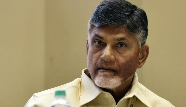 Andhra Pradesh Chief Minister N Chandrababu Naidu pulled the TDP out of the NDA government last week after it refused to confer special category status on his state.(HT FILE PHOTO)