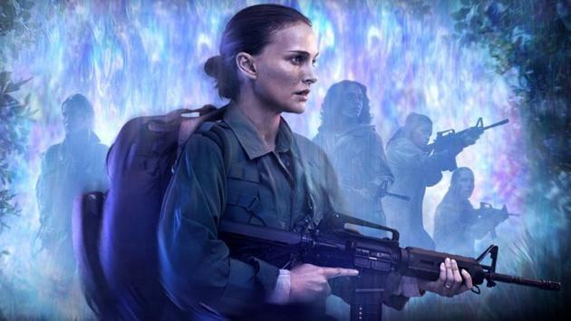 Natalie Portman plays a biologist in Alex Garland's Annihilation.