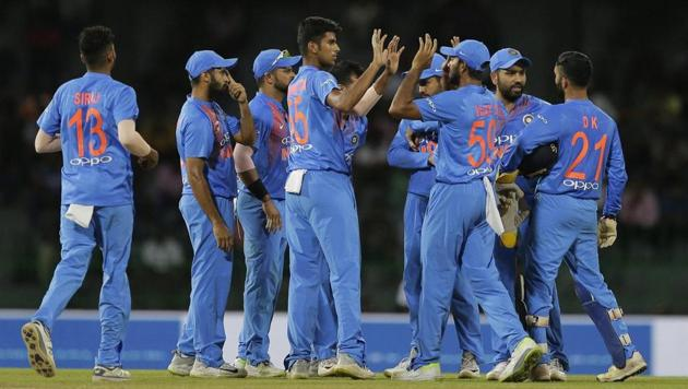 Get highlights of India vs Bangladesh, Nidahas Trophy 2018, here. The Indian cricket team beat Bangladesh in the 5th match of the Nidahas Trophy 2018 T20 tri-series at the R Premadasa Stadium in Colombo tonight.(AP)