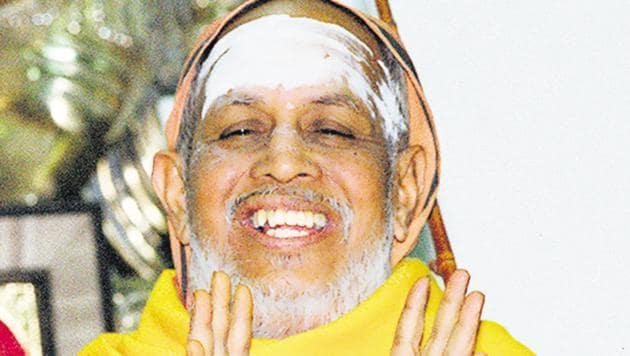 Jagadguru Sri Jayendra Saraswathi Sankaracharya.(HT Photo)