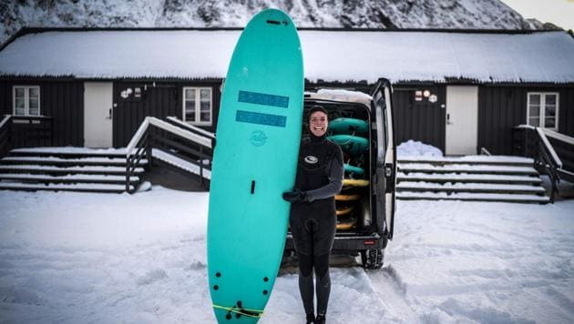 Extreme sports: Meet the surfers who brave Arctic waters to pursue their passion