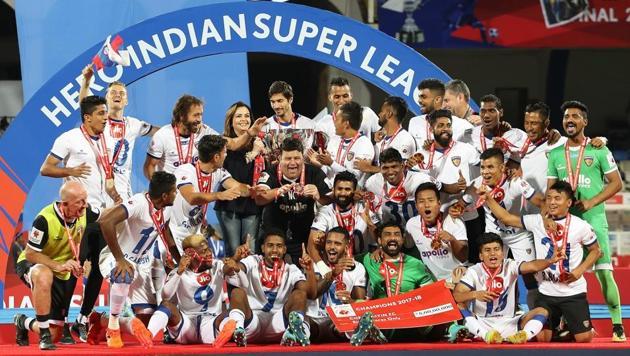 Chennaiyin FC silence Bengaluru FC to clinch ISL 2017-18 title