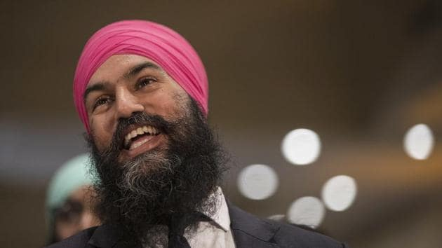 While he was a member of the Ontario provincial parliament, Singh had moved such a motion there in 2016.(AP File)