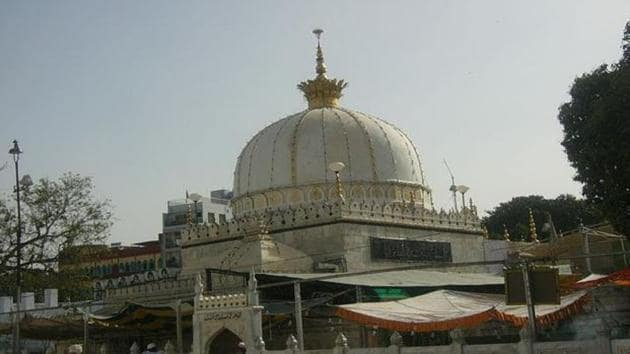 A file photo of the famed shrine of Khawaja Moinuddin Chishti in Ajmer.(Livemint Photo)