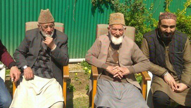 Geelani will continue to head the hardline faction of the Hurriyat Conference of which Tehreek-e-Hurriyat is a constituent.(ANI Photo)
