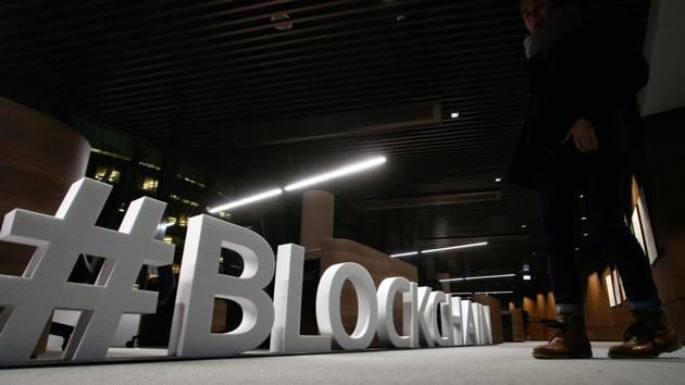 Blockchain is a digital database of transactions that uses encryption and shared network of decentralised computers to independently record and verify the exchanges, preventing data theft, hacking and manipulation.(AFP)