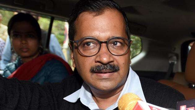 Arvind Kejriwal said that he had repeatedly requested the L-G to give him an audience before taking a decision but the Lt Governor did not do so.(Sonu Mehta/HT Photo)