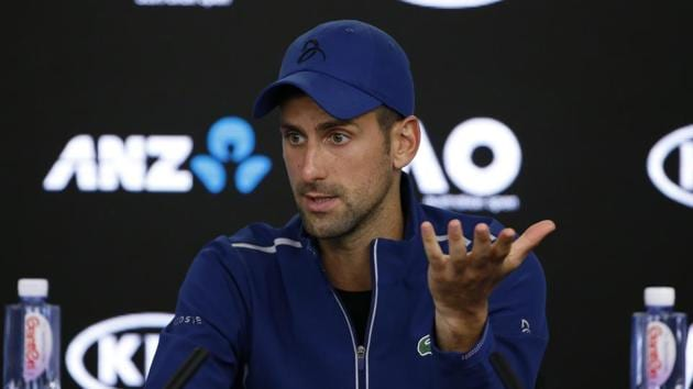 Novak Djokovic's physical problems have clearly affected his once seemingly impenetrable mental strength.(REUTERS)