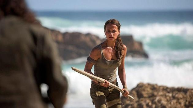 Ladies! Here's how Alicia Vikander got ripped to play the role of Lara Croft in...