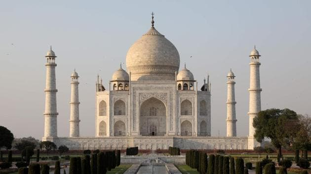 The idea behind the scheme is to ensure that tourists get an 'awesome' experience while visiting the Taj Mahal.(AFP Photo)