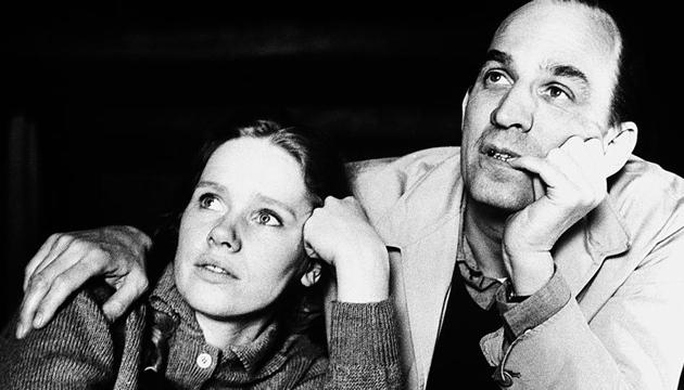 The Swedish film director with one of his favourite leading ladies and later partner, Liv Ullman.(Photo: Getty Images)