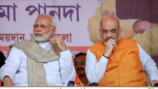 The Prime Minister Narendra Modi-led government has announced that it would help double farmers' income by 2022, among other promises.(PTI File Photo)