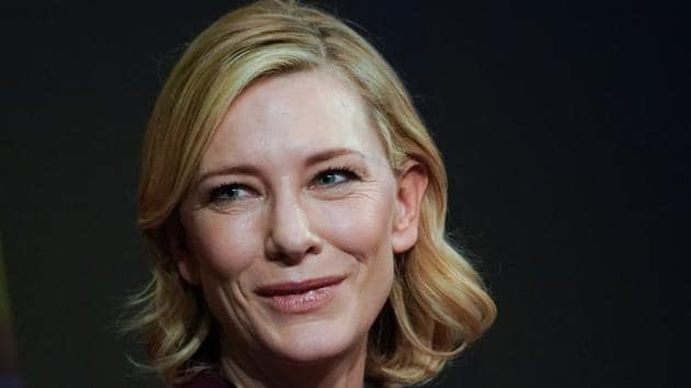 Cate Blanchett, Goodwill Ambassador, United Nations High Commissioner for Refugees (UNHCR) attends the World Economic Forum (WEF) annual meeting in Davos.(REUTERS)
