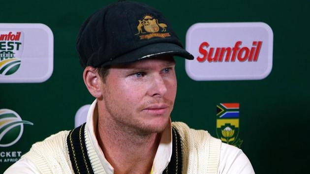 Australia captain Steve Smith and teammate Cameron Bancroft sensationally admitted to ball tampering during the third Test against South Africa on Saturday.(AFP)