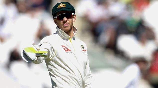 Time Paine stepped in as Australia's captain on Sunday after Steve Smith was stood down for the rest of the match along with his deputy David Warner amid a ball-tampering scandal.(AFP)