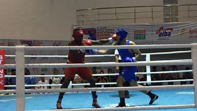 Four girls from Manipur have sealed their berths for the quarter finals at Youth National Boxing.(BFI)
