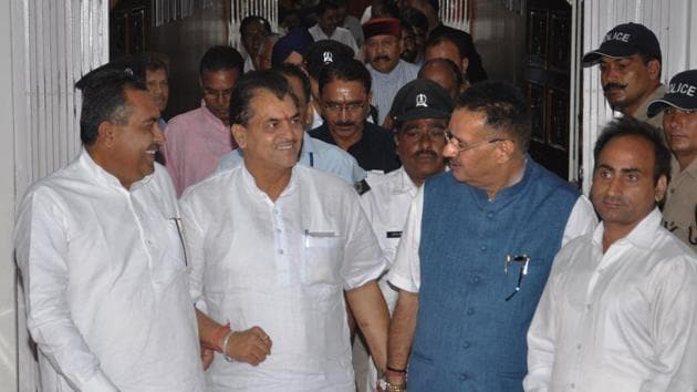 The Uttarakhand assembly passed an amendment bill to hike the lawmakers' salaries and allowances by a voice vote on Monday.(HT Photo)
