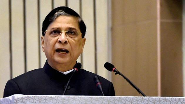Chief Justice of India Dipak Misra.(PTI File Photo)