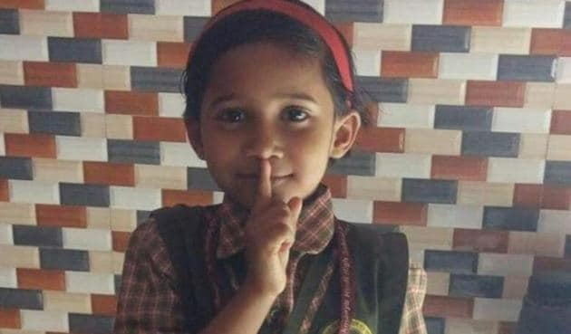 Five-year-old Anjali Saroj was strangled to death by her dad's ex-lover.
