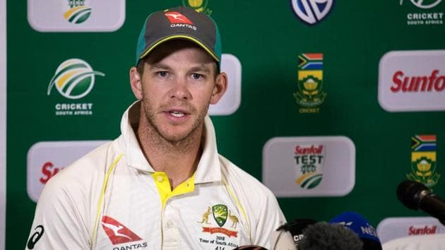 Tim Paine will captain Australia in the Johannesburg Test as they aim to avoid a series defeat in South Africa for the first time since 1970.(AFP)
