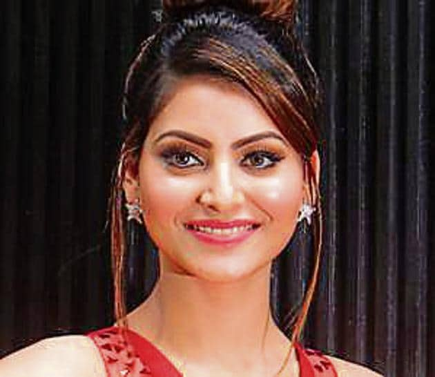 Actress Urvashi Rautela claimed a fake Aadhaar had been used to book a hotel room in her name.(HT File)